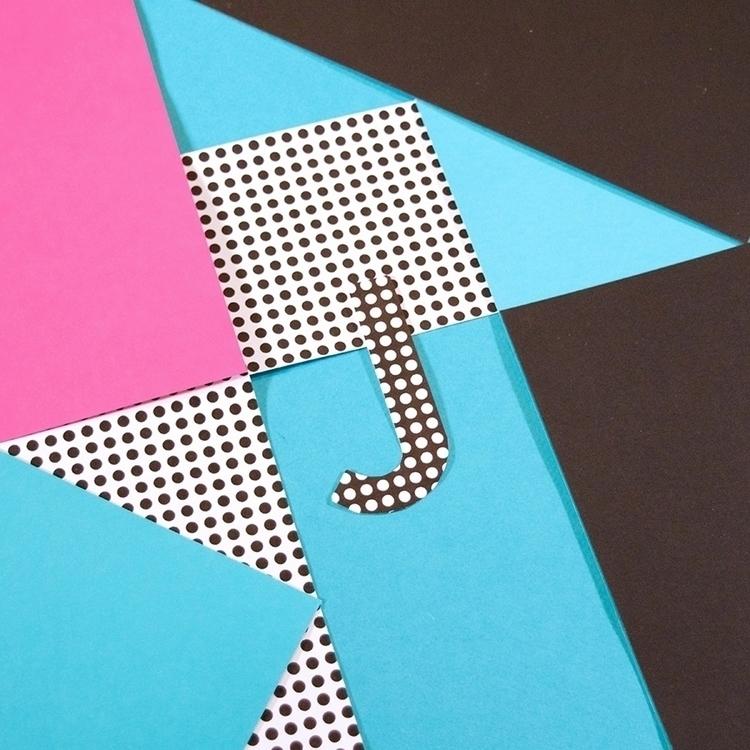 36daysoftype, typography, collage - katiecoughlan | ello