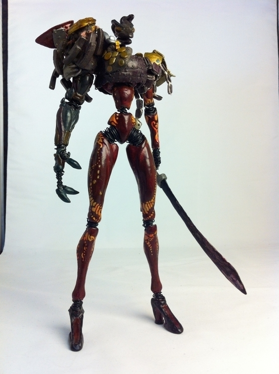 God 01 - gameart, design, sculpture - tetsuoizumi | ello