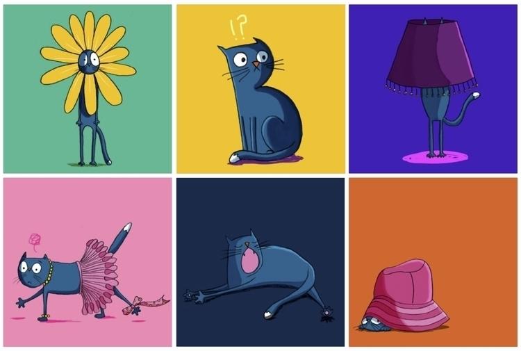 Cat - illustration, cat - cpowell-1234 | ello