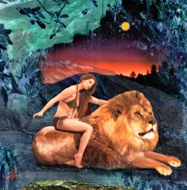 Leo Zodiac Series - photography - jimtrotter | ello