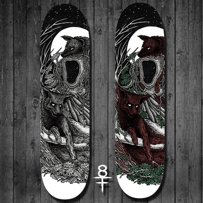 skateboard illustration (fors s - shapefromhell | ello
