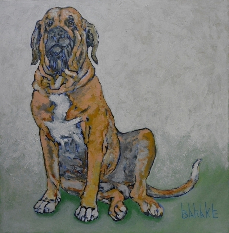 BRAZILIAN FILA - dog, dogs, painting - barakesculptor | ello