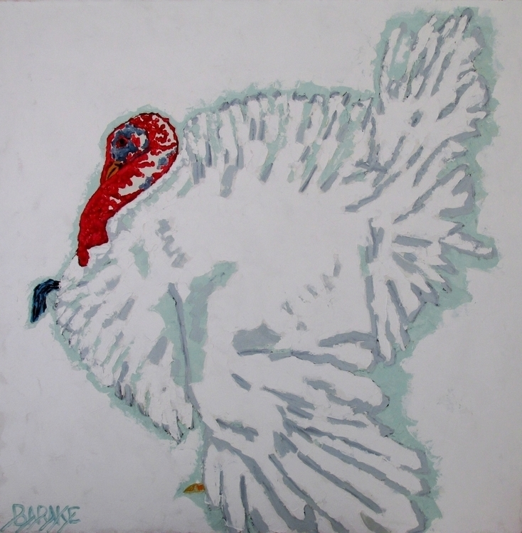 TURKEY - painting, turkey, bird - barakesculptor | ello