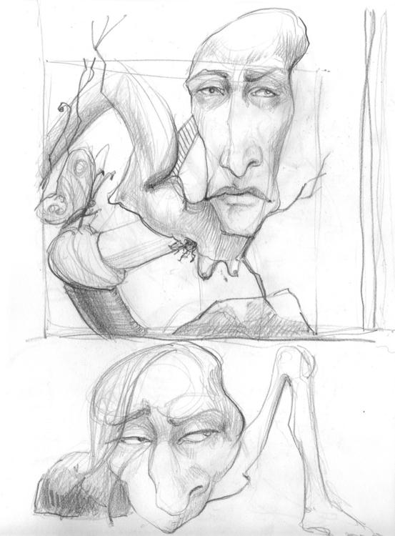 Tierdness | Sketch - illustration - liovamilla | ello