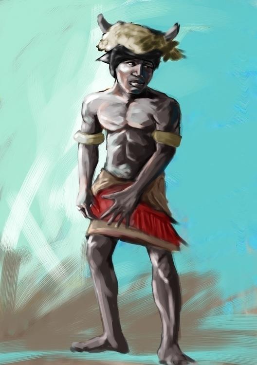 illustration, painting - vostevoste | ello