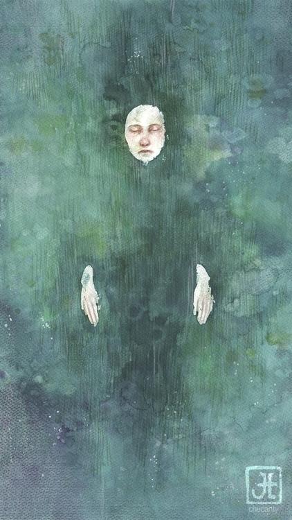 ophelia, watercolours - checanty | ello