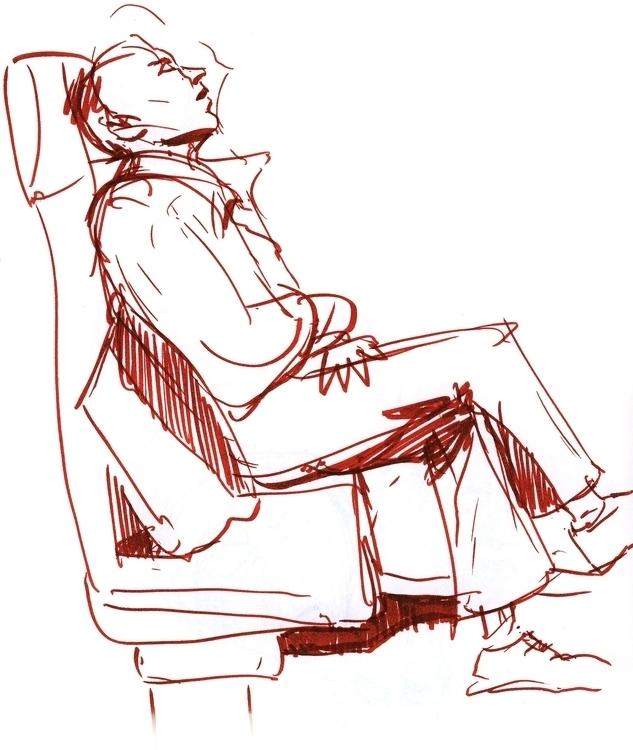Figure | Sketch - sketch, penink - liovamilla | ello