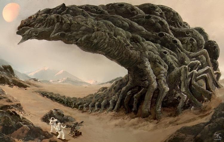 Mars terror Aka ( Marsauros Rex - sanskarans   ello