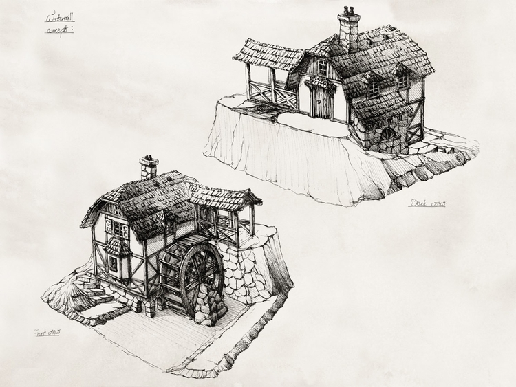 WATERMILL (tabletop miniatures - grimdream | ello