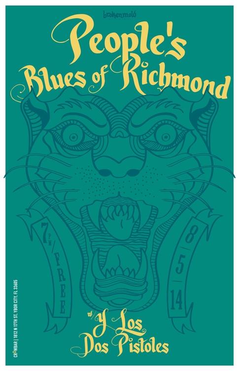 brokenmold Blues Richmond - Gig - aznmade | ello
