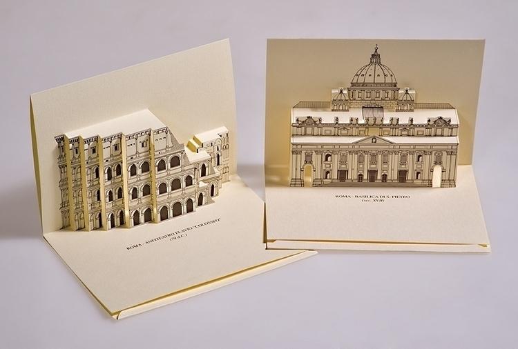 Monuments Rome, italy - 3d, 3dpopup - giovannirussografico-1091 | ello