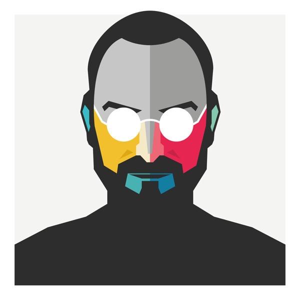 STEVE JOBS - illustration, characterdesign - pedrobrinca | ello