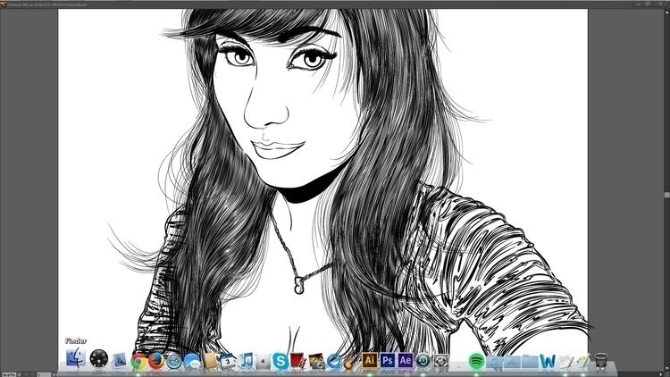 Illustration progress!! hope gu - atsukosan-3588 | ello