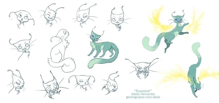 RuneMoth character sheet - characterdesign - allytha   ello