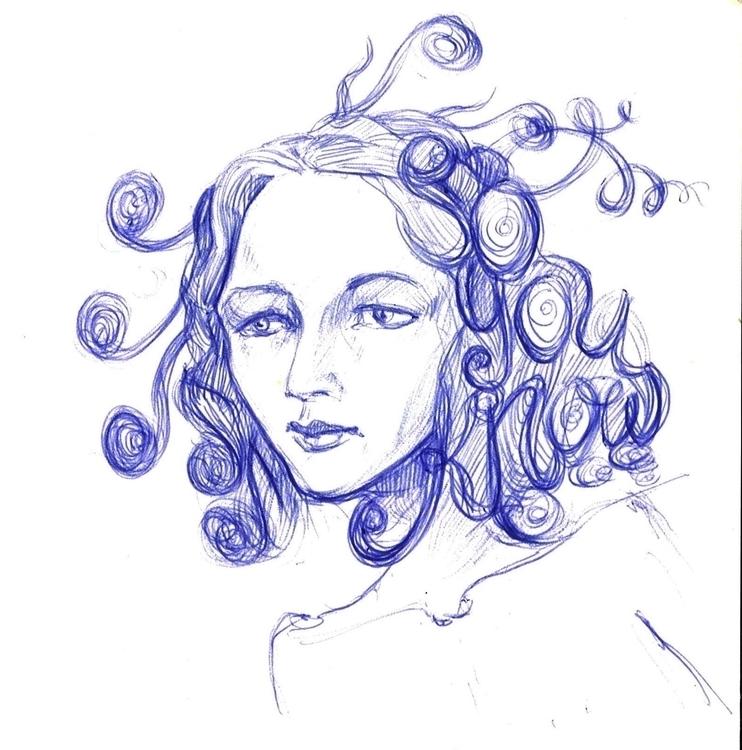 sketch, penink - liovamilla | ello