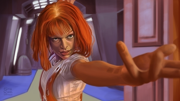 Color study. (Leeloo) Speed pai - ginarivas | ello