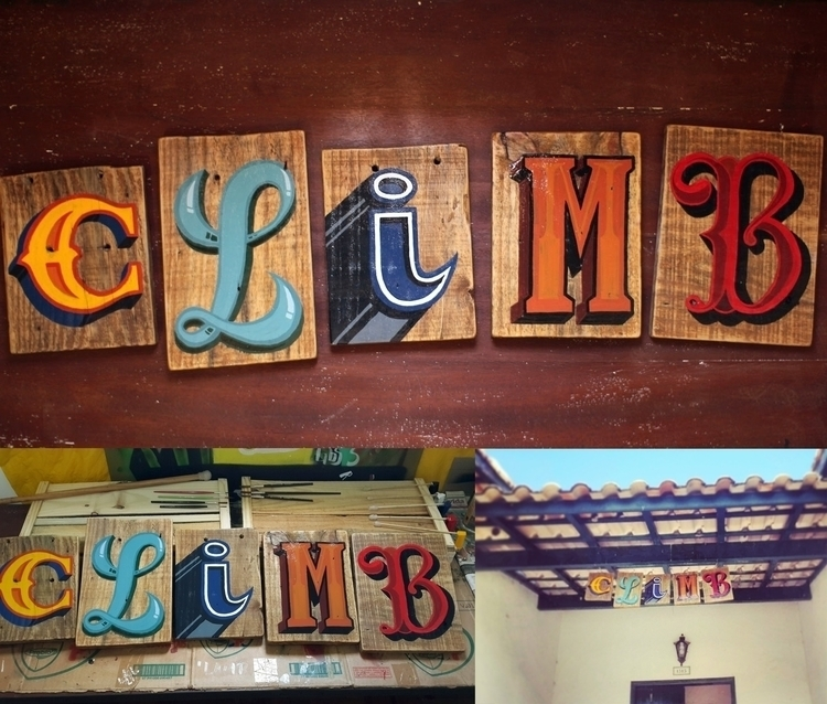 Decoration sign climbers mounta - gibara   ello