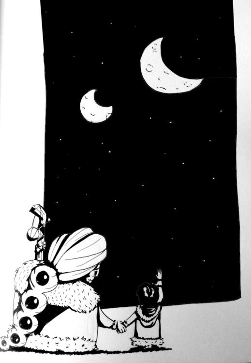 INKtober - 4, illustration, inktober - macbeth-9268 | ello