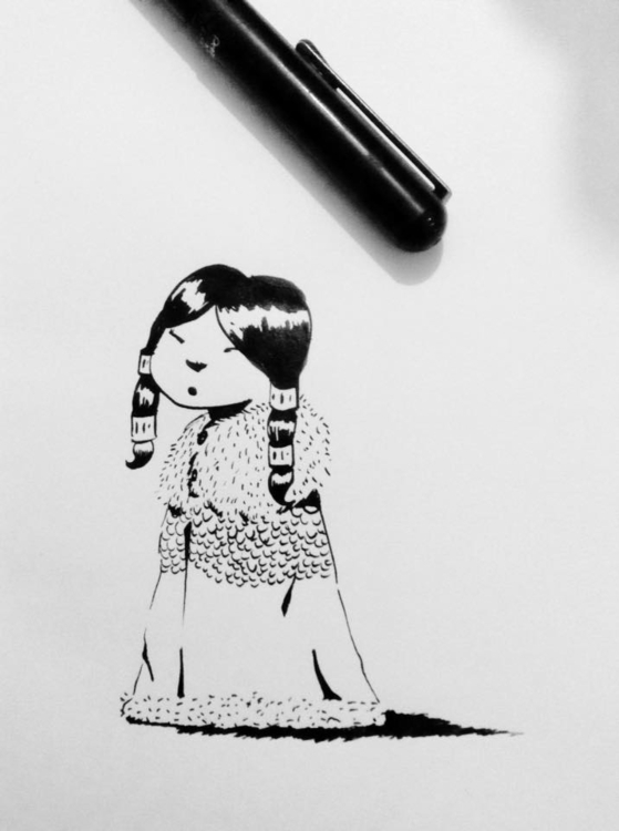 inktober - 1, illustration, ink - macbeth-9268 | ello