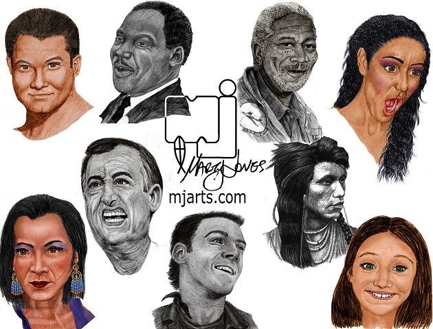 characterdesign, illustration - mjartscom | ello