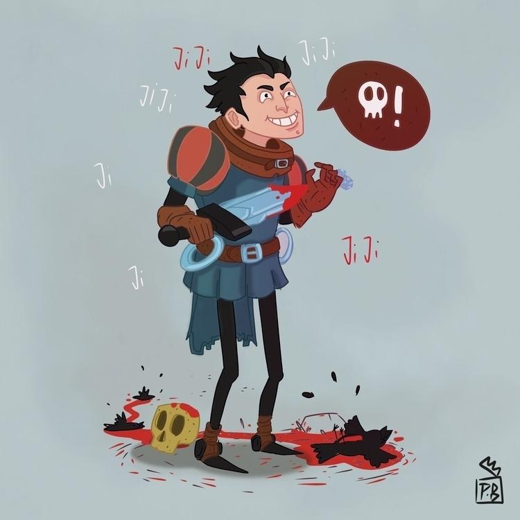 characterdesign, cartoon, illustration - pb-1050 | ello