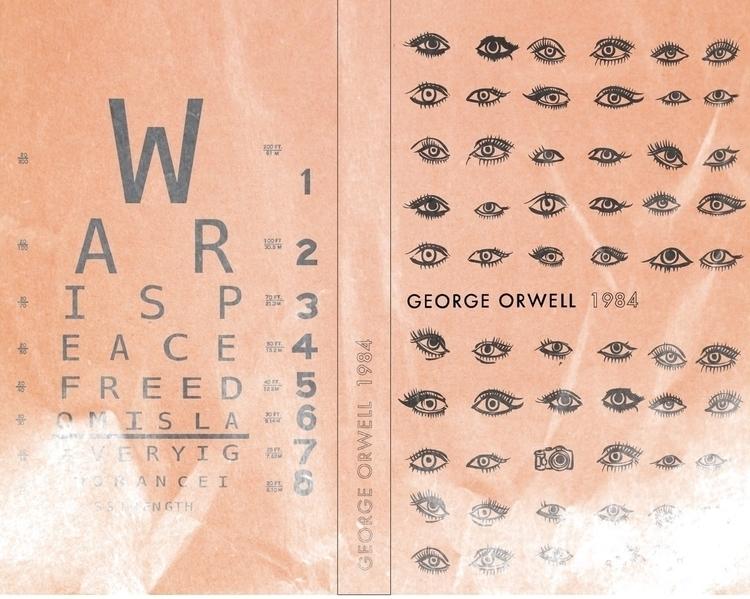 1984 book cover - illustration, bookcover - samanthacastoro | ello
