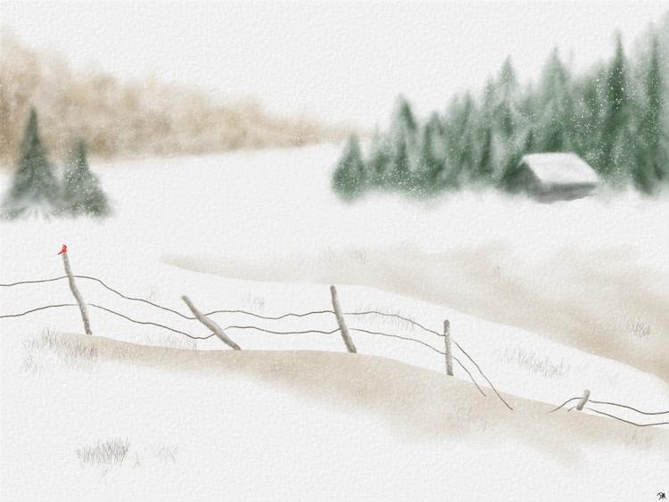 attempt digital watercolor. pai - dmerchen | ello