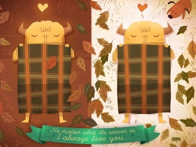 Sleeping Monsters - fall,autumn,sleep,monsters - sounas | ello