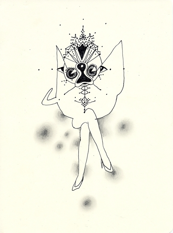 dream 18 25 cm - 2011 - drawing - sebj-4787 | ello