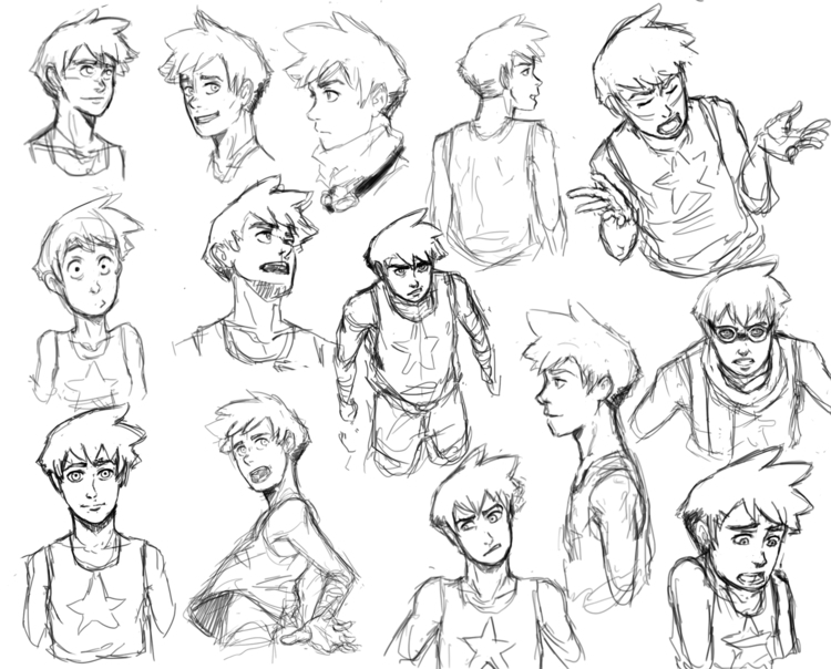 main character story design lot - netocanessa | ello