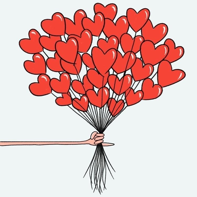 illustration, valentines, valentinesday - cpowell-1234 | ello