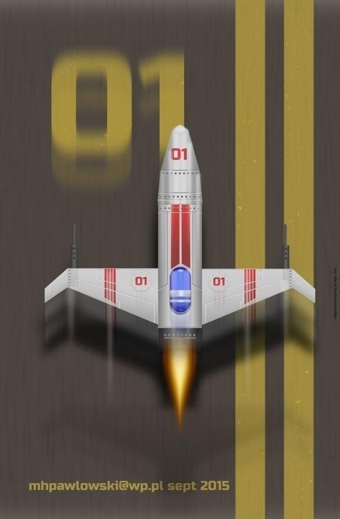 Plane 1 part challenge - inkscape - marpaw123 | ello