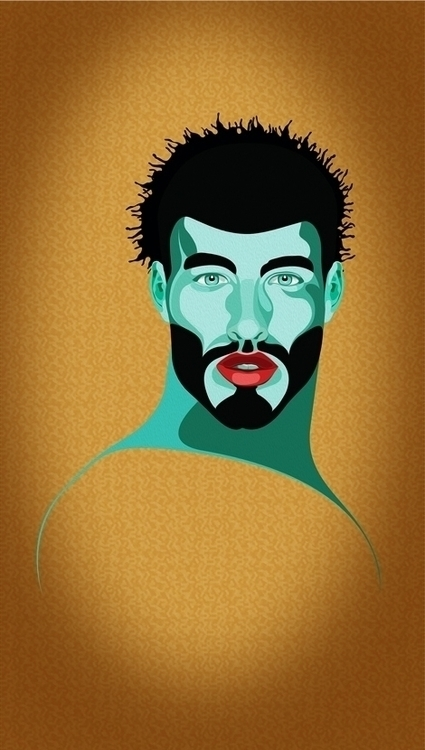 good head 4 - illustration, drawing - blueskythis   ello