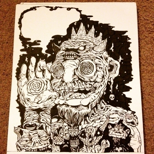 Obey - illustration, drawing, blackandwhite - ptdrake | ello
