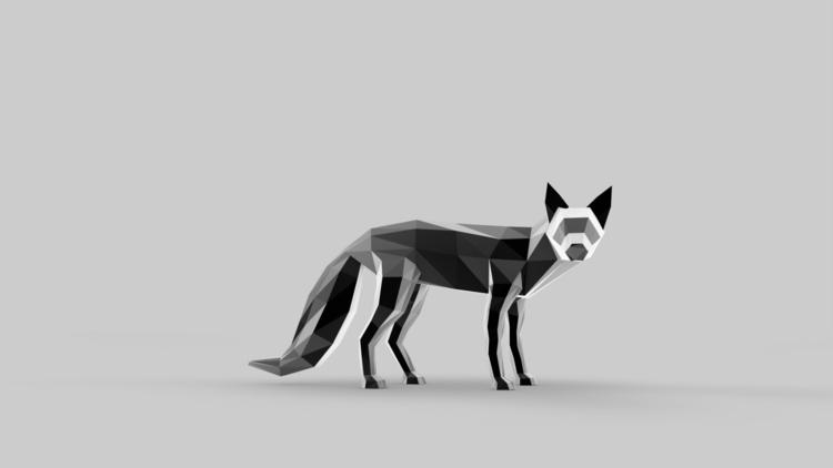 Fox - illustration, animation, characterdesign - merkic | ello