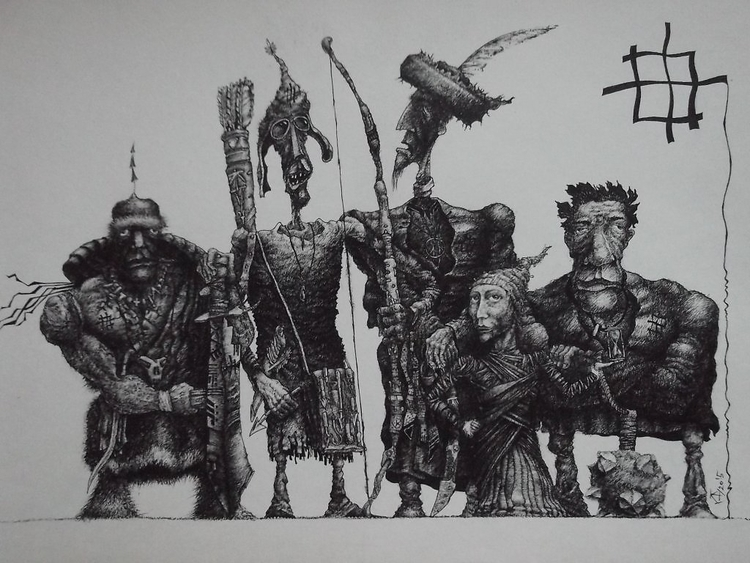 8 - drawing - danilium | ello