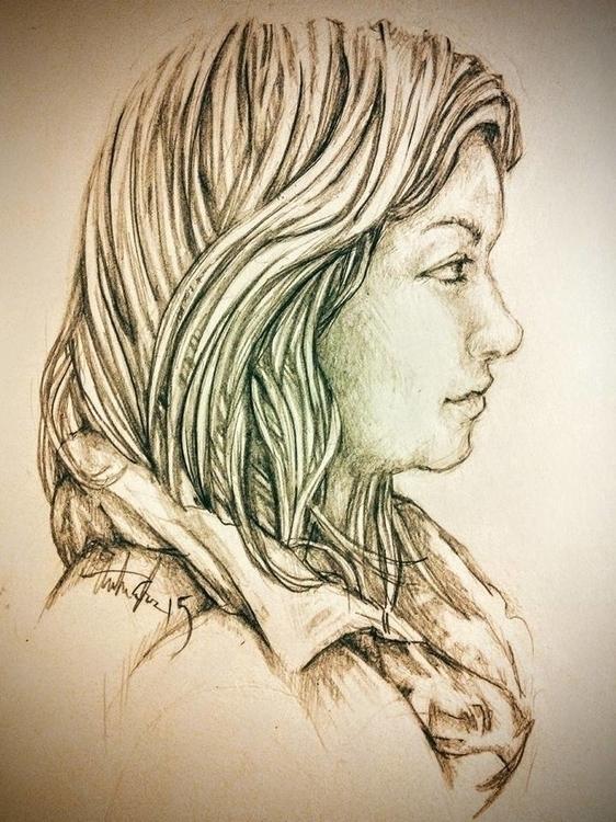 Brianna, life drawing 2016 - illustration - hotsprocket   ello