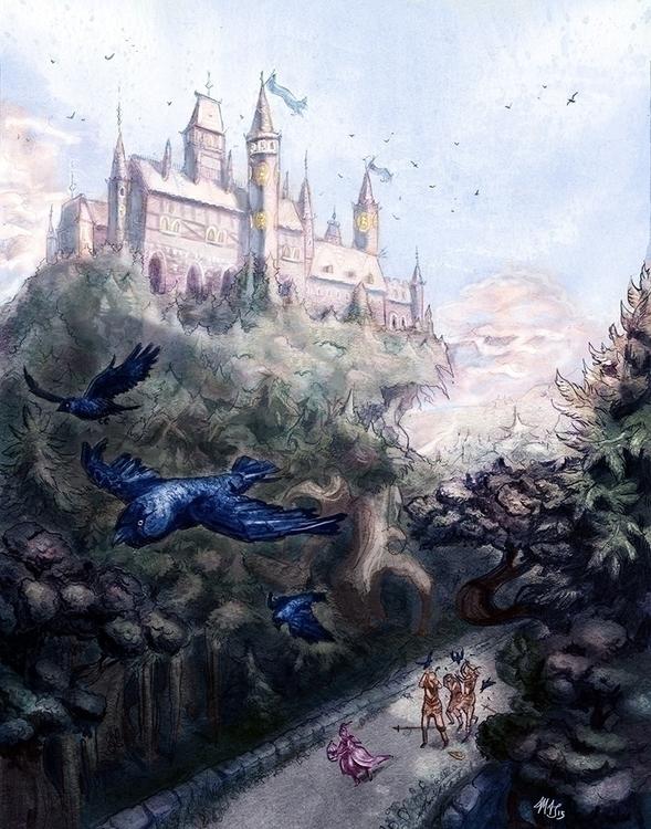 journey - fantasy, fairytales, children'sillustration - pommejane   ello