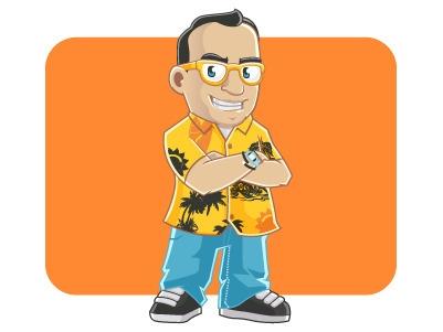 Indian Mascot - illustration, characterdesign - rockcodile | ello