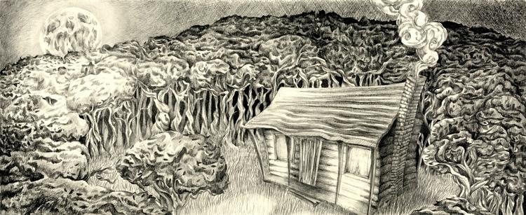 Exterior Sketch, graphite 2012 - hotsprocket | ello