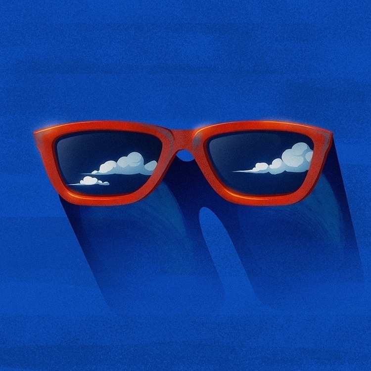 Eyeglasses - eyeglasses, illustration - malutkitajemniczyrobocik | ello