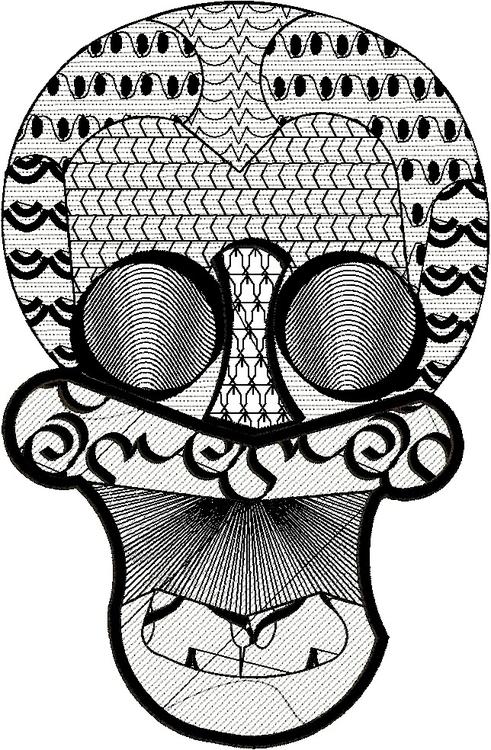Skull Dudgery - skulls, skullobsession - esn-3951 | ello