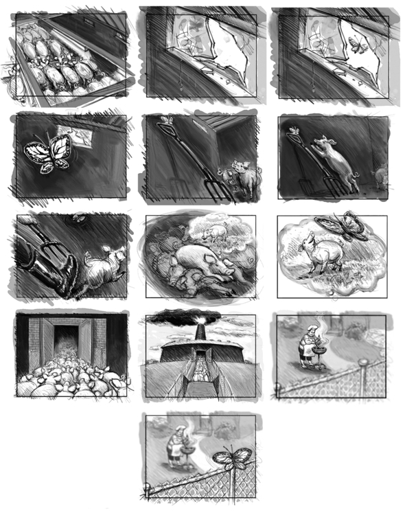 Dream - storyboard, illustration - doritart | ello