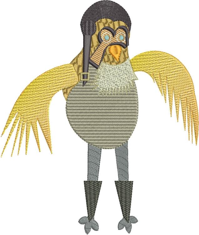 Fighter Pilot Birdie - birds, fashiondesign - esn-3951 | ello
