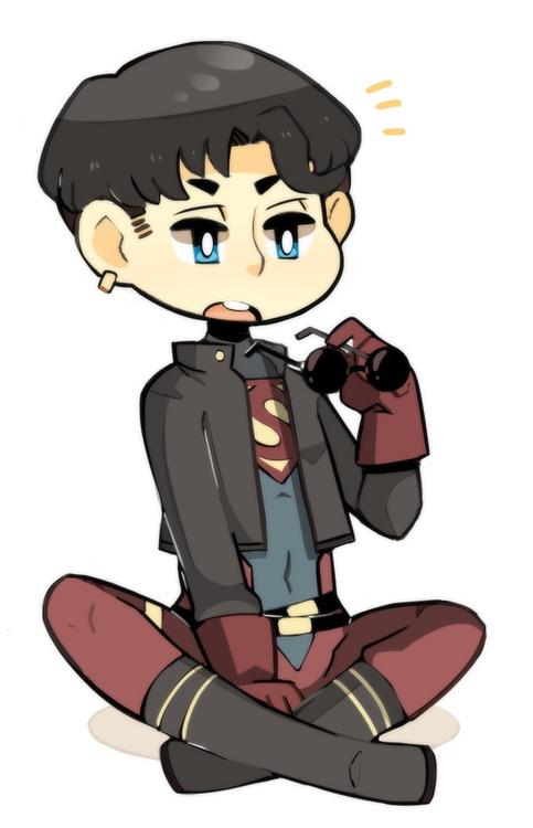 superboy  - dccomics - heavywoodenbox | ello