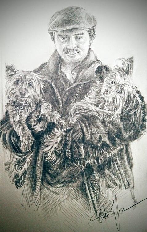 Luke, life drawing 2016 - illustration - hotsprocket | ello