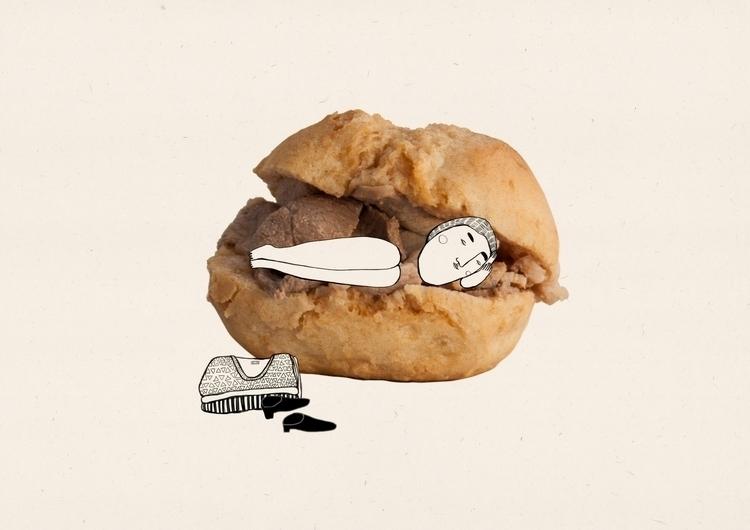 Taste Porto- Bifana - illustration - msarte | ello