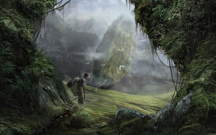 gameart, , environment, conceptart - maxduran | ello