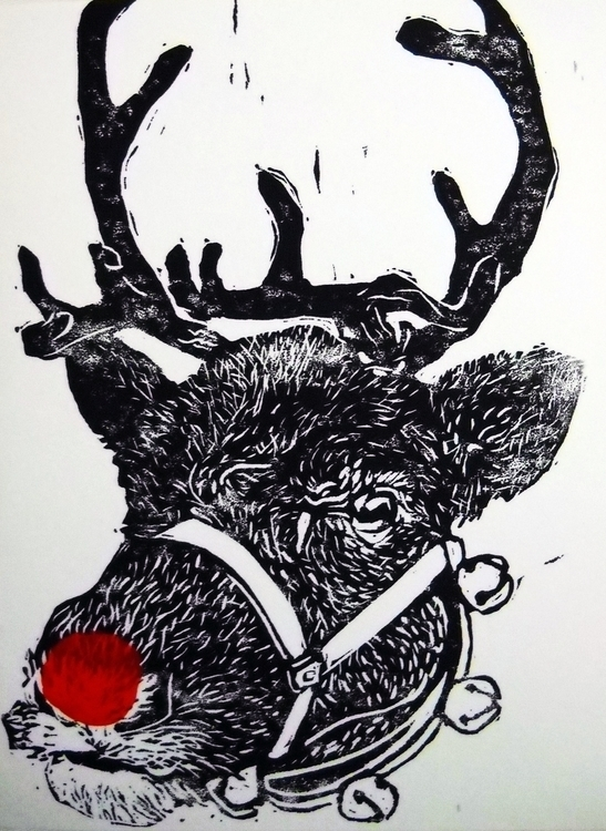 Christmas card design featuring - jenniferproffitt | ello