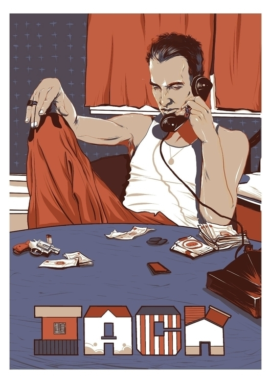 poster movie LAW - reeo, downbylaw - reeozerkos | ello